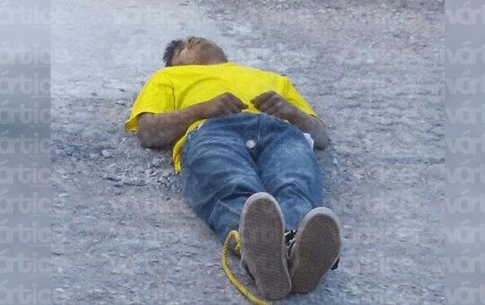 Amarran y golpean a presunto ladrón en la colonia Plan de Ayala