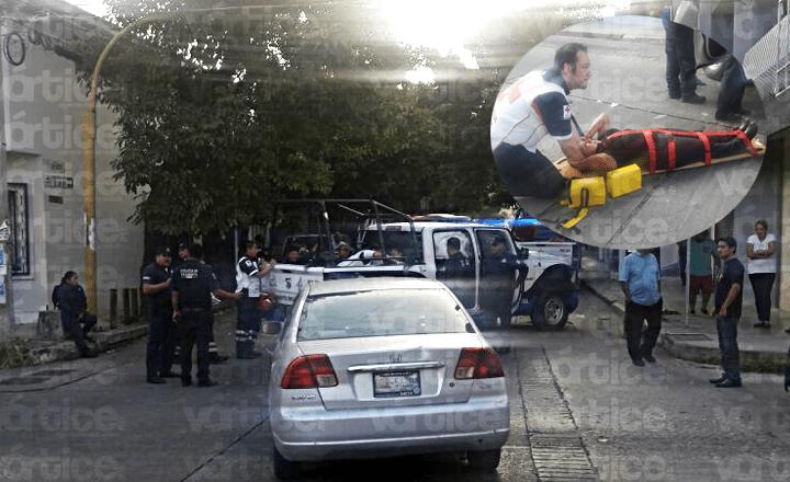 Encontronazo en Tuxtla; 5 policías resultaron heridas
