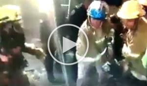 Rescatan a joven con quemaduras en el 99% de su cuerpo tras explosión en SCLC