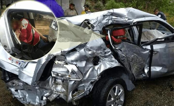 Mueren tres centroamericanos en carreterazo en Palenque