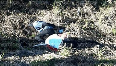 Ejecutan con el tiro de gracia a dos jóvenes en Tila; tenían las manos atadas