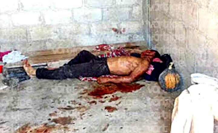 Localizan cadáver con el rostro desfigurado en Chilón