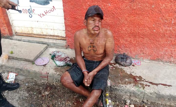 Navajean a un hombre durante una riña en la colonia Cerro de Guadalupe