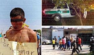 Amarran a joven acusado de asesinar a un taxista en Ocosingo