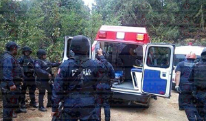 Emboscan a policías de la SSyPC y se desata balacera; hay un herido