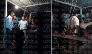 Pobladores amarran a candidato del PAN en Bochil