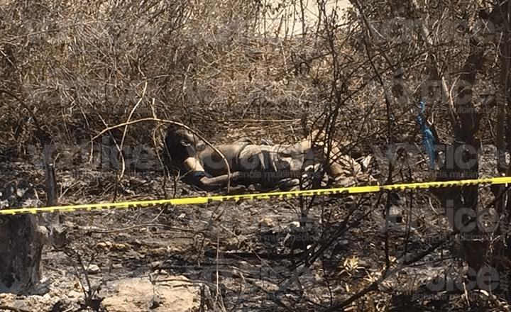Encuentran cadáver en camino de terracería en Berriozábal