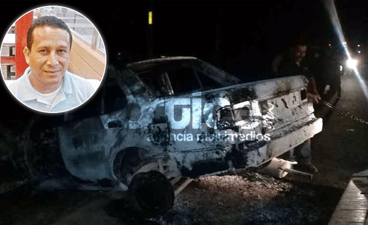 Identifican cadáver del taxista calcinado en Villaflores