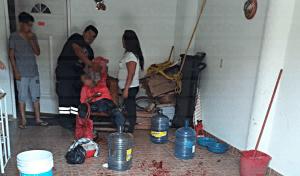Le amputan la mano a una dama en San José Terán