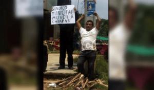 Retienen a síndico municipal de El Bosque para exigir pago de Coplamed