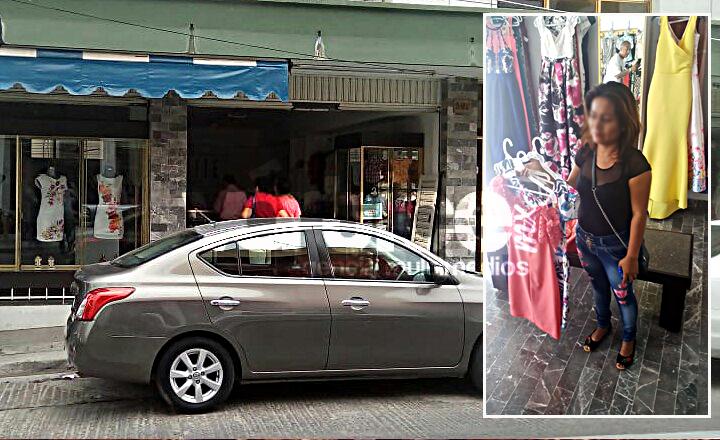 Sorprenden a mujer cuando robaba mercancía en una boutique en Tuxtla