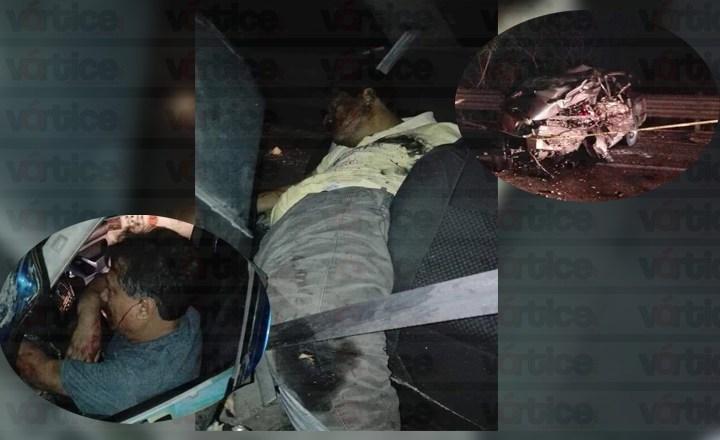 Una persona muerta y tres más graves en aparatoso accidente