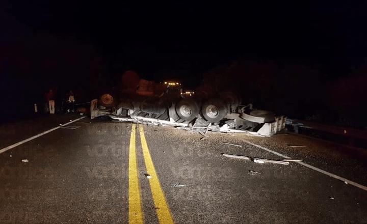 Carreterazo deja cuatro muertos en la vía de cuota Tuxtla-SCLC