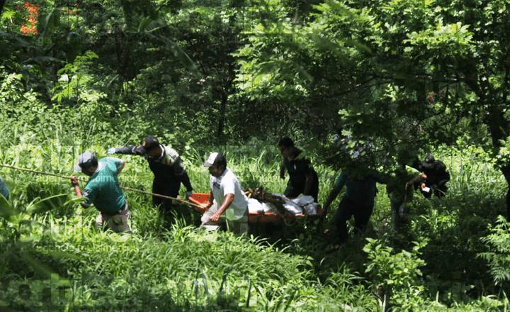 Localizan cadáver de jovencito en los márgenes del Río Sabinal