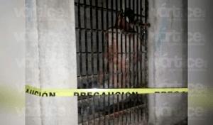 Se ahorca joven dentro de una celda preventiva en Copoya
