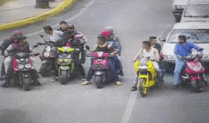 """Tras balacera, caen presuntos integrantes de la banda """"Los Motonetos"""" en SCLC"""