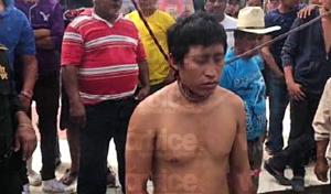 Casi ahorcan a presunto asesino de un ancianito en Villaflores
