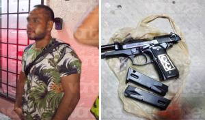 Fiscal libera a un hombre armado con placas de la FGE