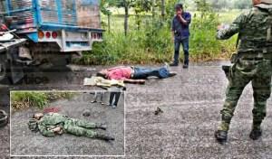 Muere militar y civil en un encontronazo en Chiapas