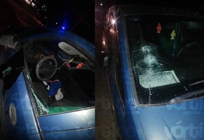 FGE dispara contra vehículo del líder sindical de la Policía Municipal