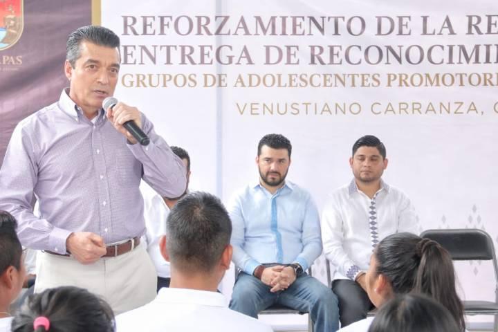Este nuevo gobierno está al servicio del pueblo: Rutilio Escandón