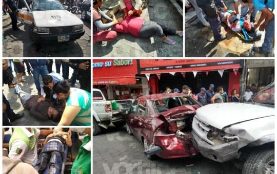 Fallece una de las 12 personas atropelladas en el centro de Tuxtla