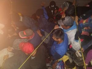 Rescatan 114 migrantes en La Pochota