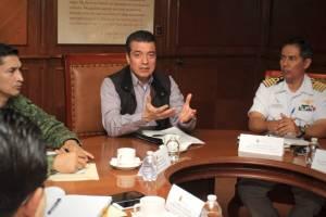 Prioritario intensificar la seguridad en todo Chiapas: Rutilio Escandón