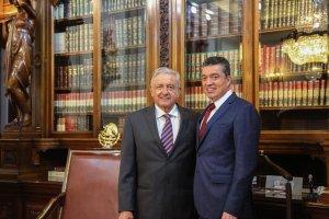 Fuerte impulso al desarrollo de Chiapas, acuerdan Rutilio y AMLO