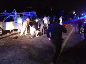 Violento accidente deja cuatro heridos en San Fernando