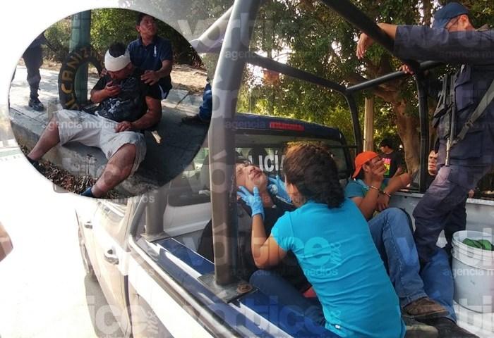Riña en la Calzada al Sumidero deja dos heridos