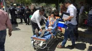Accidente en el Niño de Atocha deja tres heridos