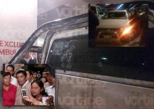 Emboscan y disparan contra exalcalde de Pantelhó y su familia