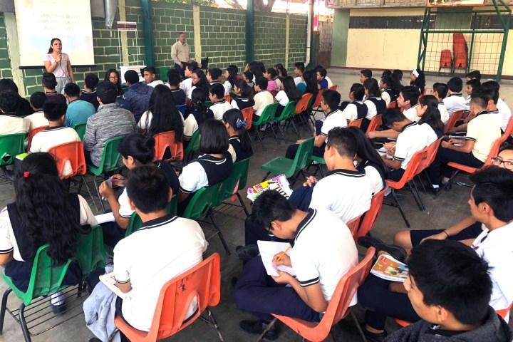 Realiza Fiscalía de Adolescentes pláticas de prevención del delito