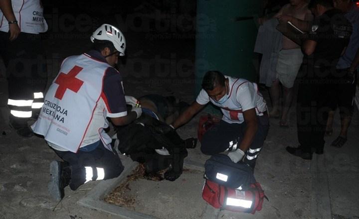 Muere motociclista tras chocar contra la pilastra de un puente en Tuxtla