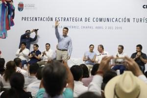 Chiapas debe ser el principal destino turístico nacional: Rutilio Escandón