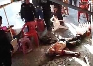 Asesinan a quincuagenario cuando comía tacos en el centro de Tapachula