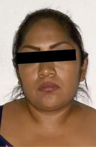 La detuvieron por el delito de robo con violencia