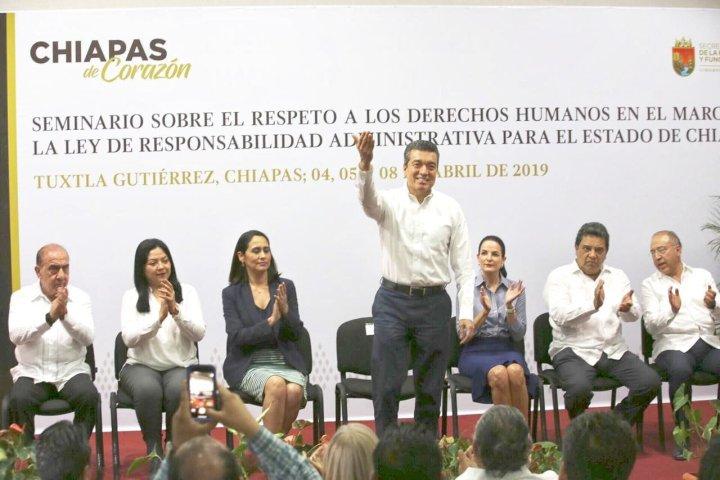 Indispensable, promover y garantizar el respeto a los derechos humanos en el servicio público: Rutilio