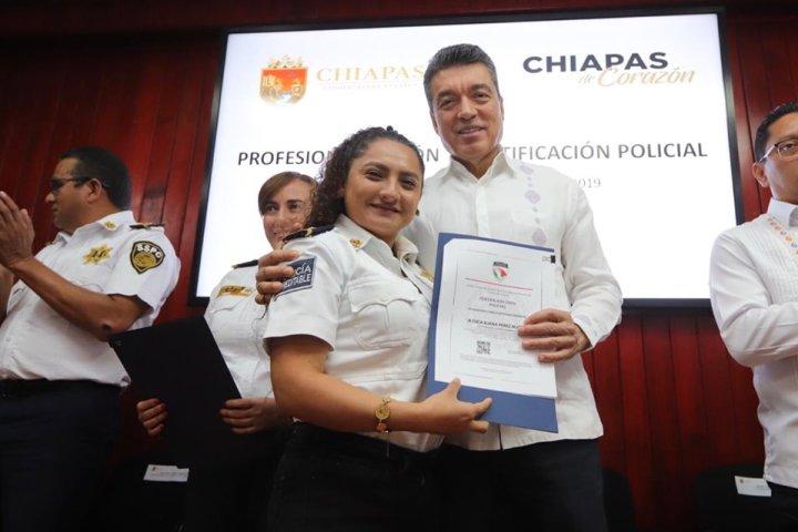 Capacitación de policías fortalece investigación y prevención del delito: Rutilio Escandón