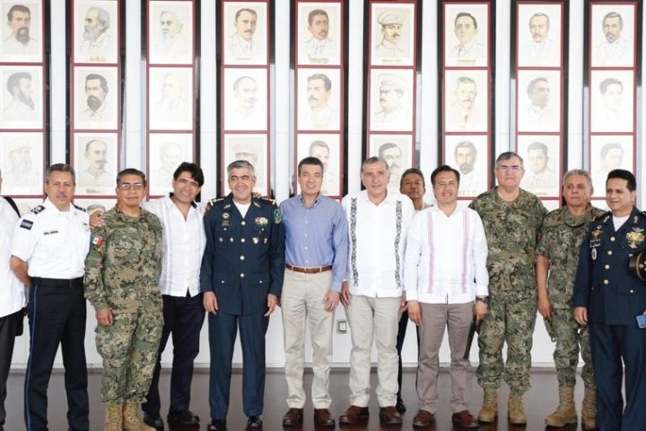 Refrendan Chiapas, Tabasco y Veracruz trabajo en unidad por la seguridad del sur-sureste