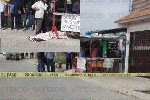 Asesinan de 4 balazos a peatón; le dieron el tiro de gracia