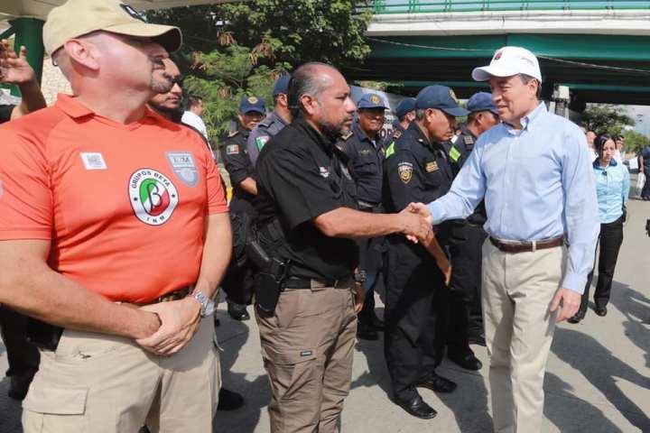 Destaca Rutilio Escandón colaboración institucional para garantizar vacaciones seguras en Chiapas