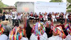Junto a pueblos indígenas, celebra Rutilio Escandón el diálogo, el corazón y la paz de Chiapas