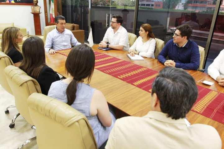 Rutilio Escandón se reúne con delegación de la Corporación de Inversiones Privadas en el Extranjero