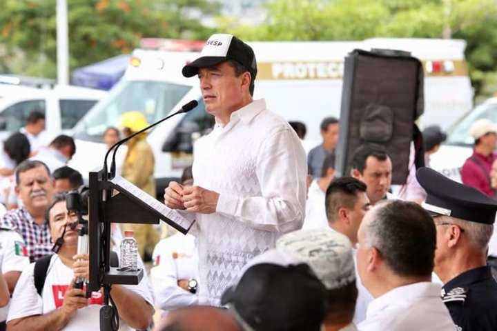 Sin corrupción y con dignificación de la policía se refuerza la seguridad pública: Rutilio Escandón