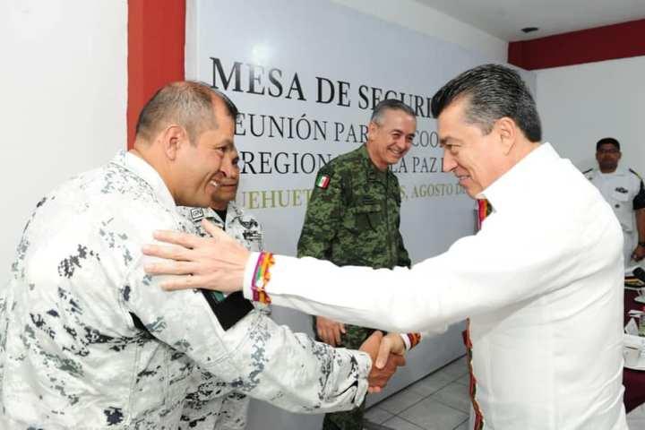 En Huehuetán, Rutilio Escandón encabeza Reunión para la Coordinación Estatal y Regional de la Paz