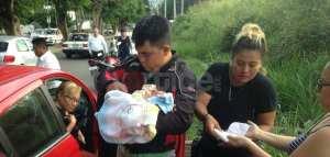 Abandonan a recién nacido entre matorrales