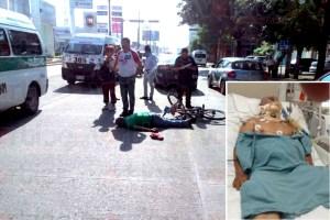 Muere ancianito 6 días después de ser atropellado por un colectivo de la R-90