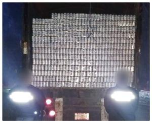 decomisan 75 toneladas de azúcar y cerveza en La Trinitaria